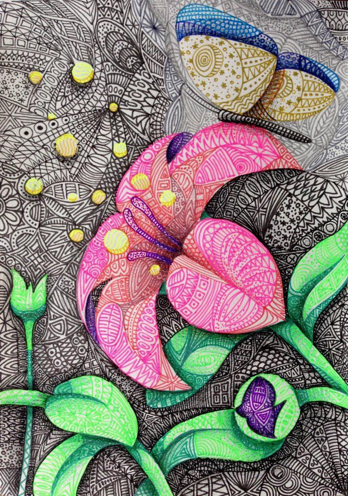 Musterblumen