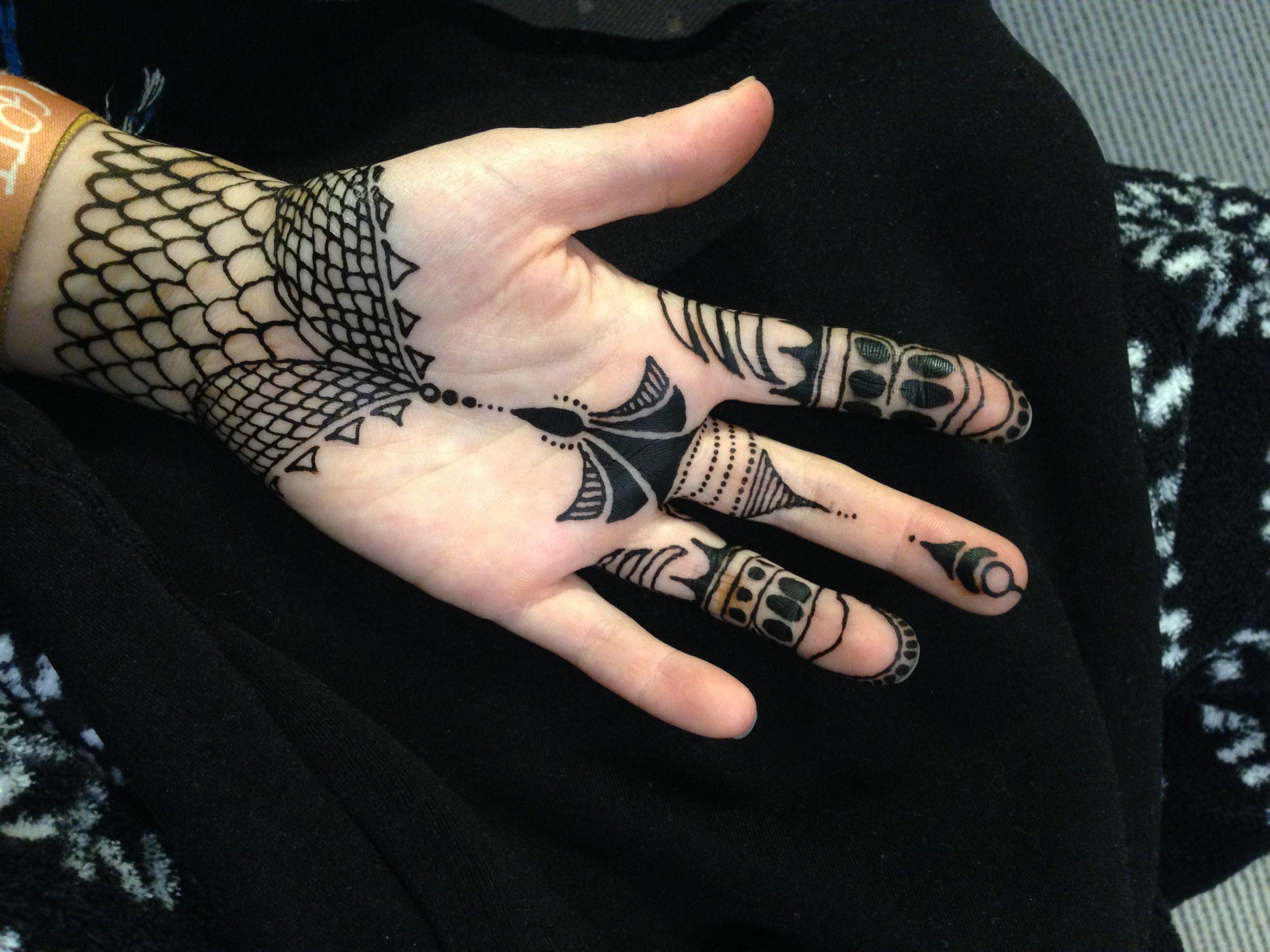 Keltisches Henna