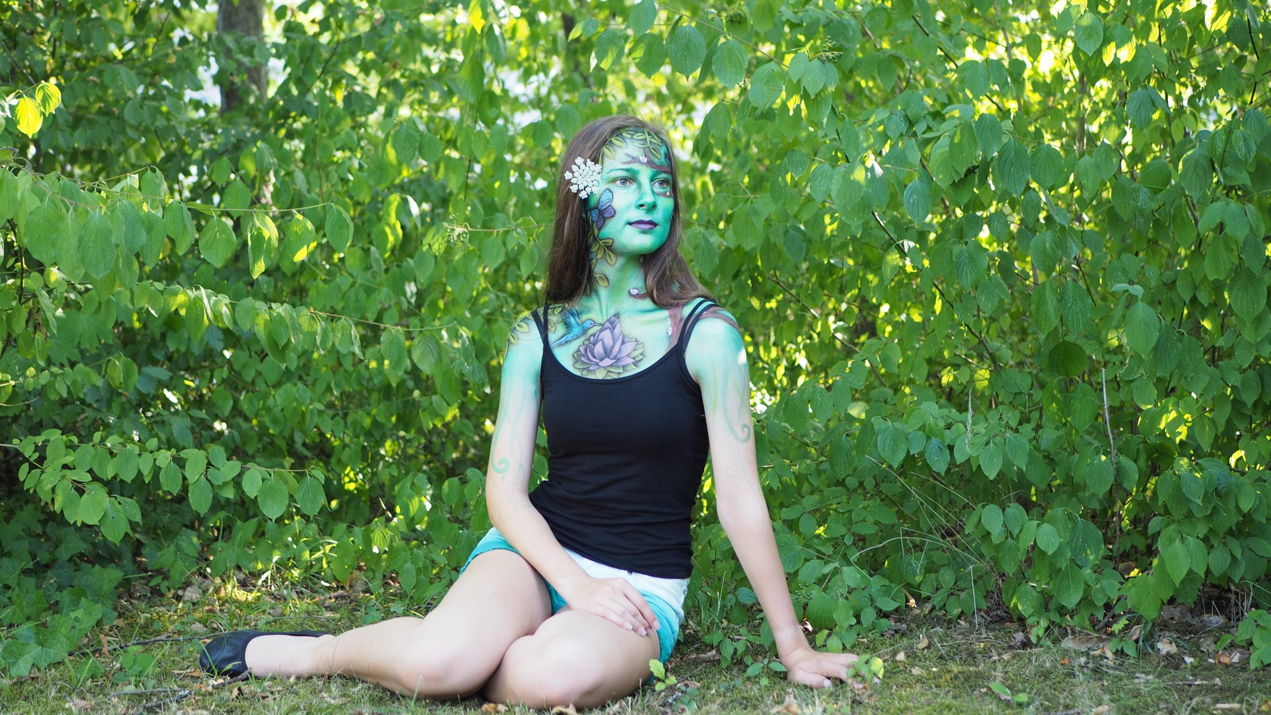 Pflanzenfrau