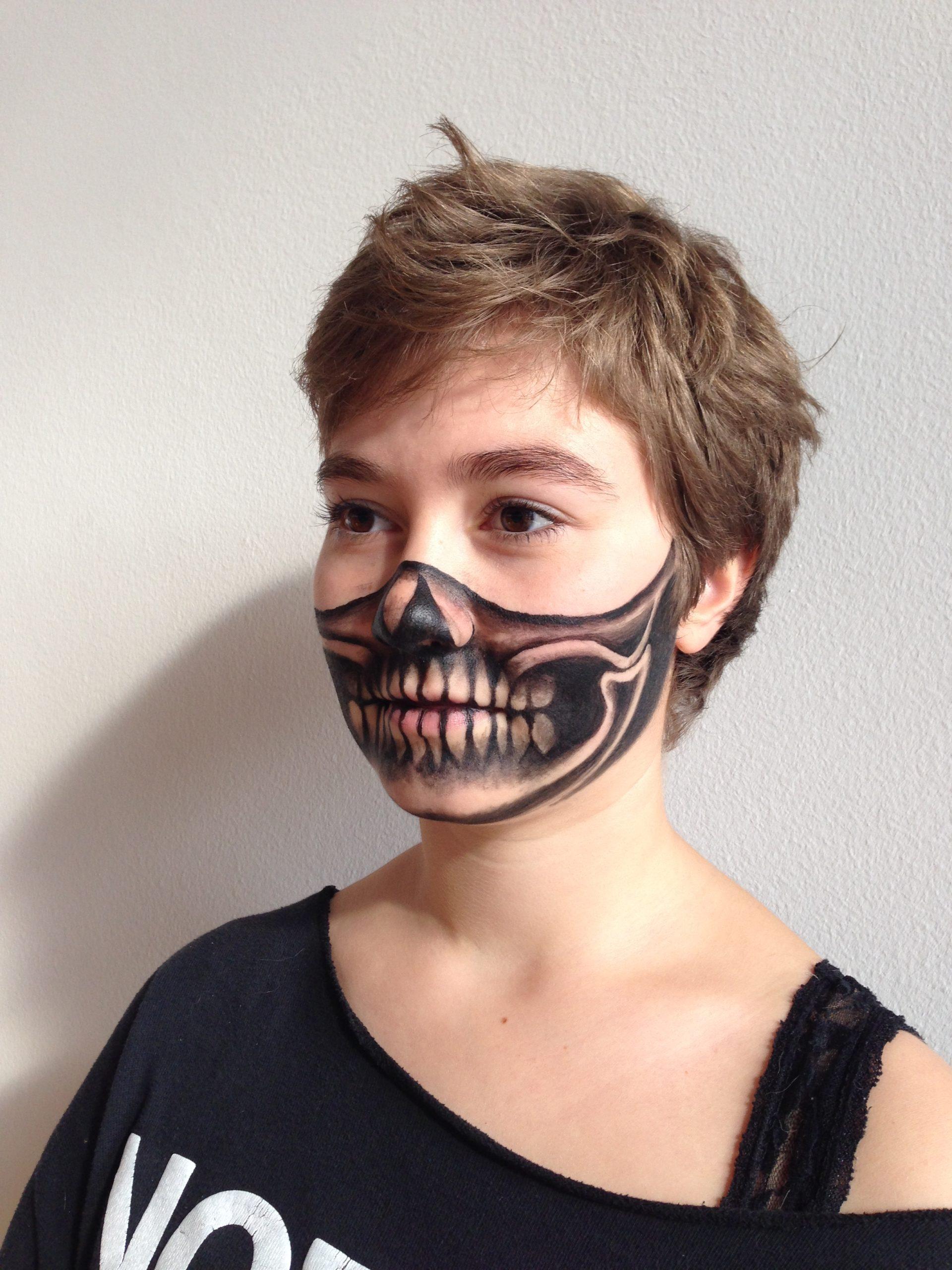 Skull-Unterkiefer