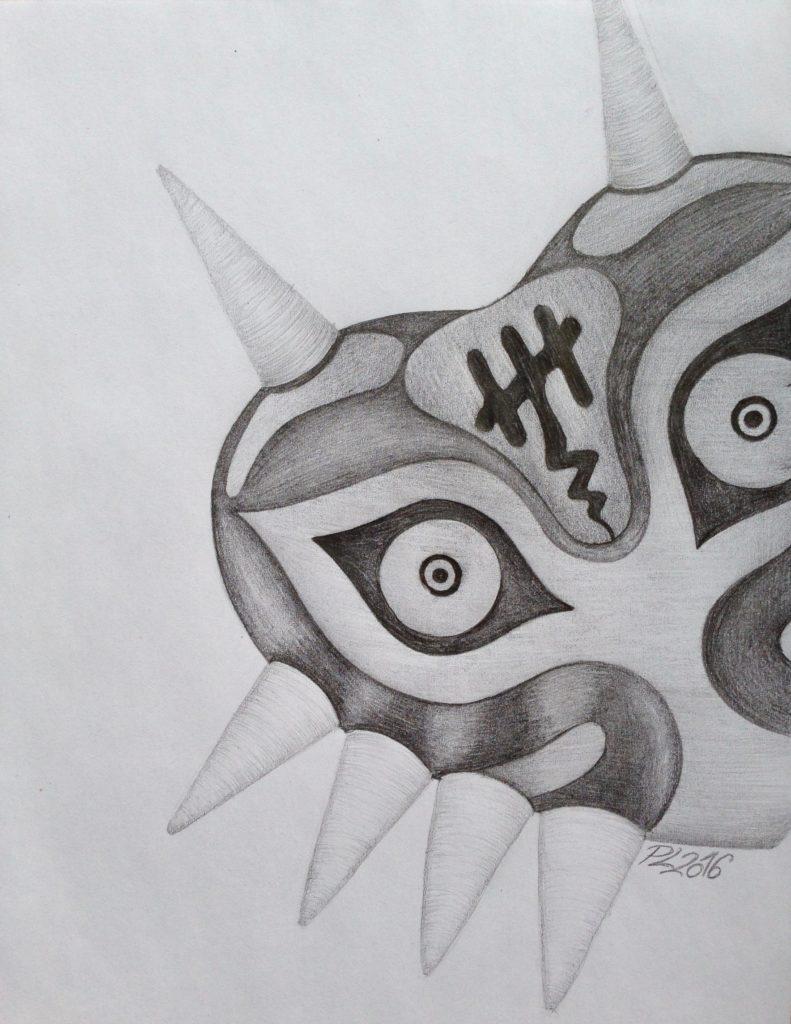Zelda-Maske