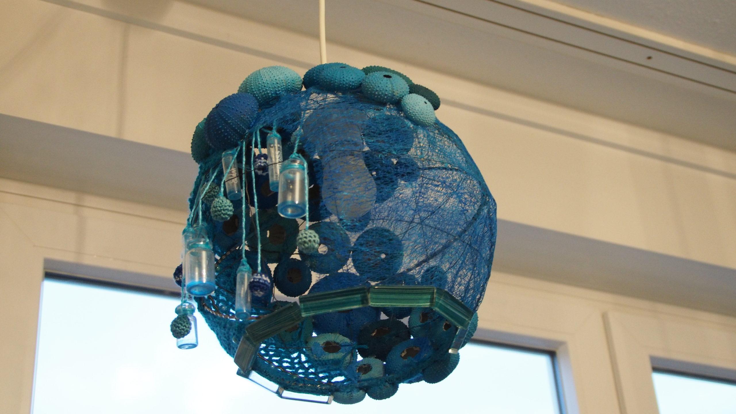 Seeigel-Lampe